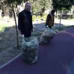 50 de saci cu deşeuri strânse şi un adăpost improvizat demolat, în cadrul unei noi acţiuni de igienizare a malurilor Begăi