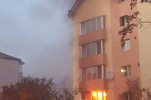 Explozie într-un bloc din zona Girocului