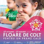 Companiile sunt invitate să distribuie flori de colț pentru copiii nevoiași
