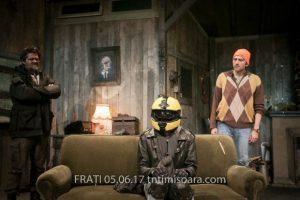 FRAȚI, un spectacol de neratat, pe scena Teatrului Național Timișoara