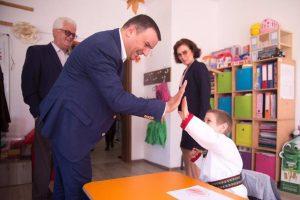 """CJT a ridicat un imobil nou Centrului Școlar pentru Educație Incluzivă """"Alexandru Roșca"""" din Lugoj"""