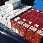 Ţigări de contrabandă, confiscate de jandarmii timişeni