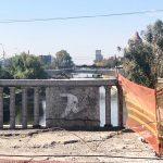 Municipalitatea a dat ordin de reîncepere a lucrărilor la Podul Dragalina