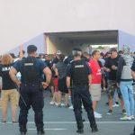 Jandarmii asigură măsurile de ordine la meciul ASU Politehnica – UTA