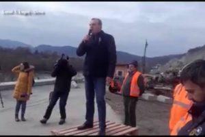 Ministrul Lucian Șova, în vizită la autostrada Lugoj-Deva