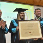 Simona Halep, Doctor Honoris Causa Beneficiorum Publicorum al UVT