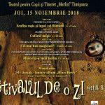 """Festivalul de o zi, maraton de spectacole la Teatrul pentru Copii și Tineri """"Merlin"""""""