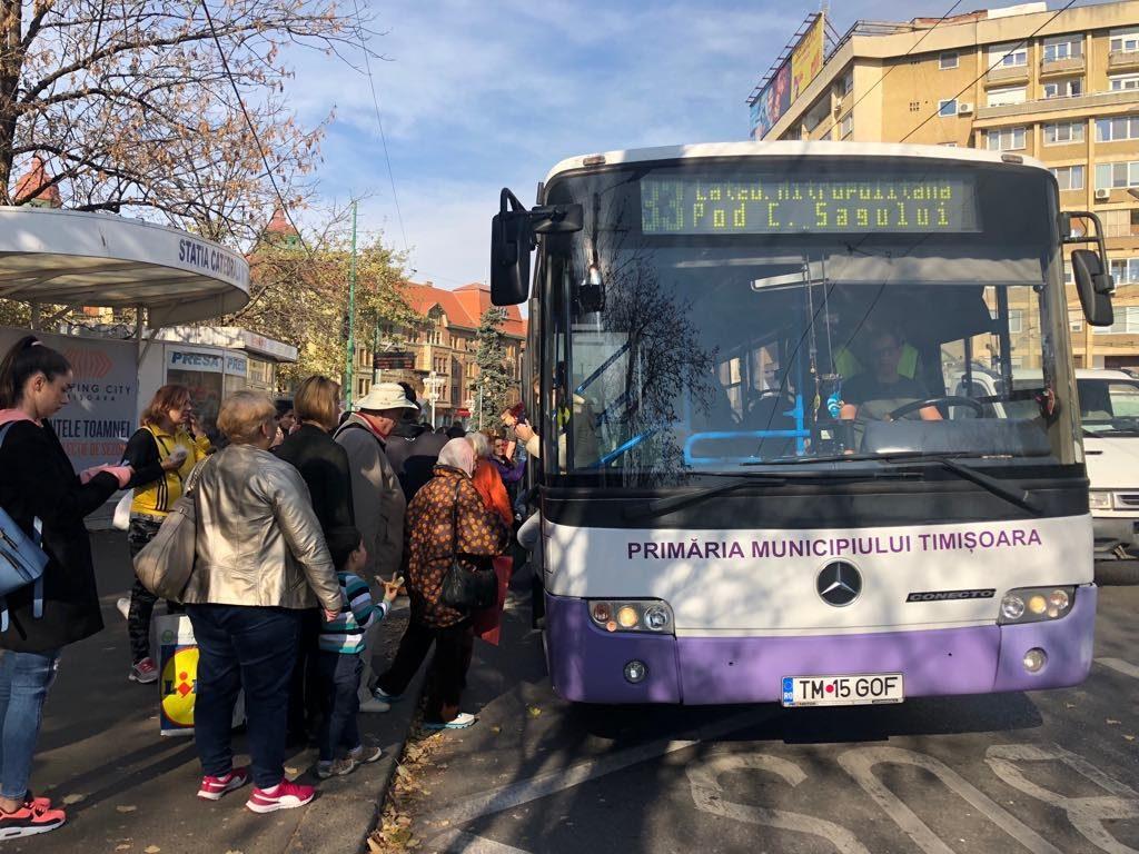 STPT caută șoferi de autobuz