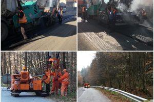 Se asfaltează drumurile în zona Anina