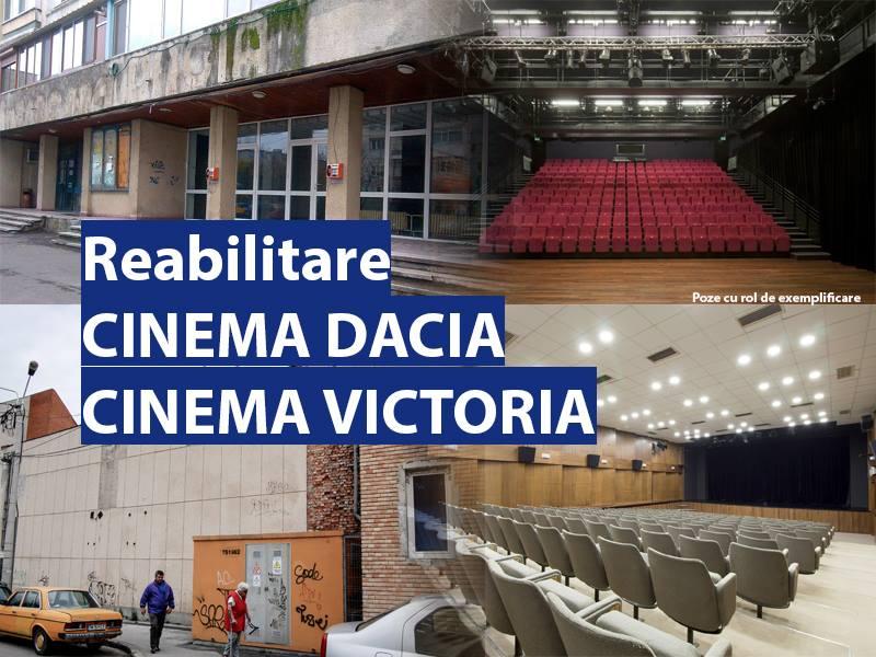 A început programul de reabilitare a cinematografelor din Timișoara