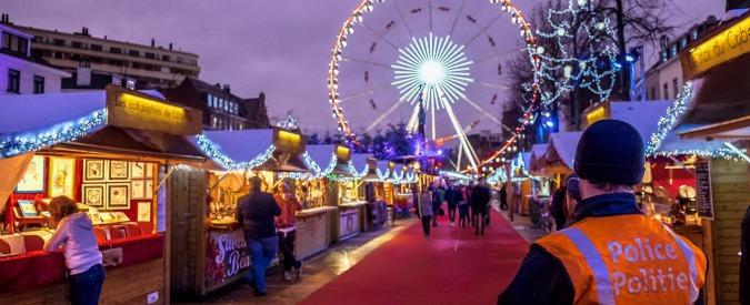 Foto. Târgul de Crăciun din Bruxelles, locul unde vin expozanţi din toată Europa