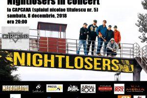 Blues ardelenesc cu Nightlosers live în Timişoara