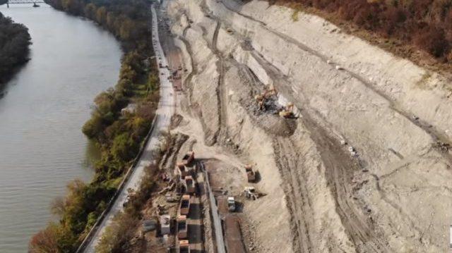 O nouă alunecare de teren pe autostrada A1, tronsonul Lugoj – Deva