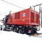 Trei generatoare ale ISU au ajuns la Făget