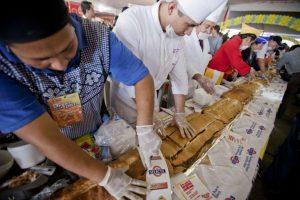 Cel mai mare sandwich din ţară va fi preparat la Timişoara, de Cantina Socială