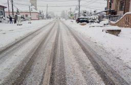 Circulația rutieră se desfășoară în condiții de iarnă pe drumurile județene din Timiș