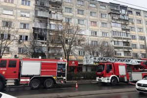 Incendiu violent la un apartament din Timișoara
