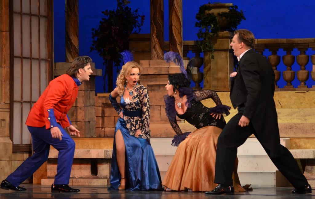 """""""Silvia"""" revine pe scena Operei. Ce spectacole mai putem vedea luna aceasta"""