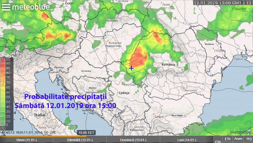 Cum va fi vremea în Crișana și Banat în weekend