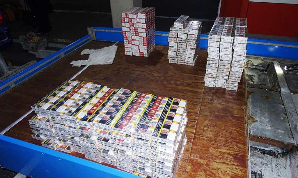 Peste 4,6 milioane pachete cu ţigări de contrabandă, confiscate în anul 2018