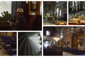 Domul Catolic din Piața Unirii a intrat în reabilitare