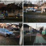 Accident grav la Arad, un mort şi doi răniţi grav