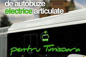 Timișoara va primi 44 de autobuze electrice noi
