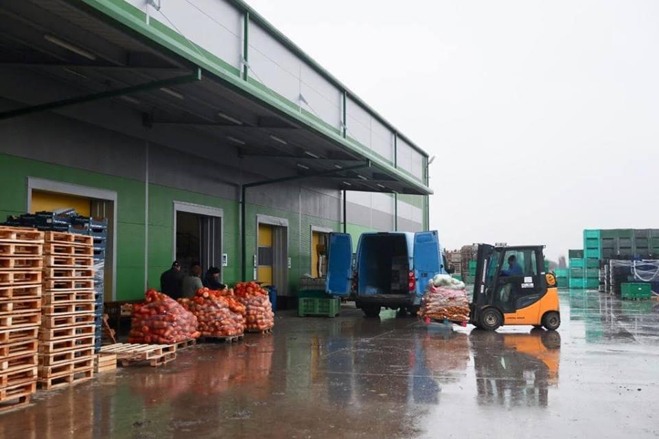 Stadiul proiectului care vizează realizarea unui Centru de colectare a legumelor și fructelor
