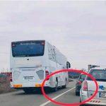 Șofer din vest amendat în urma unei postări pe Facebook