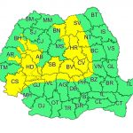 Meteorologii anunţă cod galben de ploi