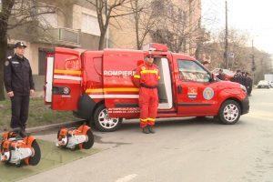 Primăria Lugoj a cumpărat o autospecială pentru pompieri