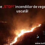 Pompierii au fost chemaţi la 35 de incendii de vegetaţie în doar 3 zile