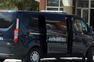 Urmărit național depistat de jandarmi în Timișoara