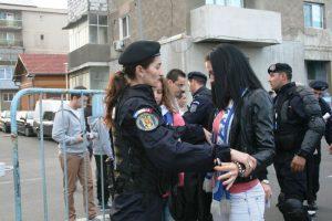 Jandarmii timişeni asigură ordinea la competiții sportive