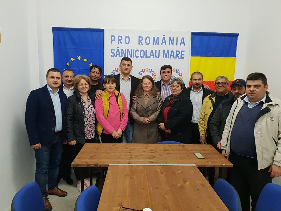 Pro România are sediu la Sânnicolau Mare