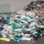 Produse contrafăcute, confiscate de polițiștii de frontieră