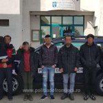 Şapte migranţi, depistaţi la frontiera cu Ungaria