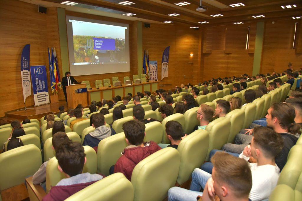 """Număr record de elevi la cea de-a VI-a ediție a manifestării """"Politehnica Timișoara – un pas spre viitorul tău"""""""