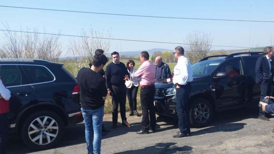 Ministrul Transporturilor promite reabilitarea DN 57 Moraviţa-Oraviţa
