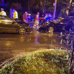 Accident cu trei răniţi pe Calea Aradului