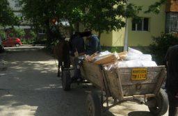 Circulația căruțelor fără aviz și rampele de deșeuri pun probleme în cartierele Soarelui, Calea Buziașului, Ciarda Roșie