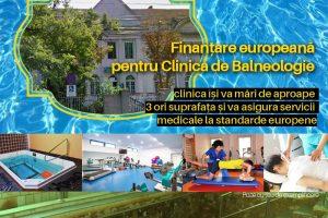 Proiect major pentru Clinica de Balneologie. Va folosi apă termală din zona Michelangelo