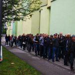 Votul în diaspora. Cozi de 2.000 de oameni, în Stuttgart
