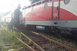 Un tren a deraiat în judeţul Arad