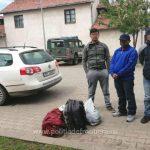 Trei bărbaţi din Nepal, depistați în timp ce încercau să treacă fraudulos frontiera