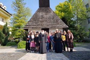 24 de tineri din Biserica Ortodoxă Finlandeză, în vizită la reședința mitropolitană din Timișoara