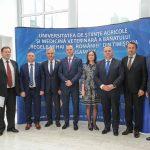 USAMVB a pus bazele unei colaborări educaționale în judeţele Harghita şi Covasna
