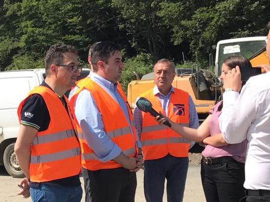 Ministrul Transporturilor, vizită pe șantierele autostrăzii Lugoj-Deva