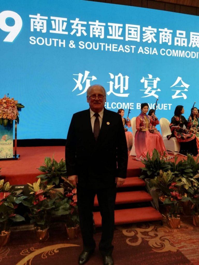 Vicepreședintele Consiliului Județean Timiș, Valentin Tudorică, prezent la forumul de cooperare China – Asia de Sud-Est