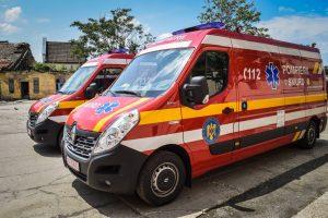 Două noi autosanitare SMURD Tip C în dotarea ISU Timiș